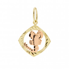 Zlato Zlatý přívěsek znamení zvěrokruhu 3220066 Znamení zvěrokruhu: Štír