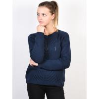 Roxy GLIMPSE OF ROMANCE DRESS BLUES dámský značkový svetr - S