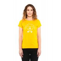 Horsefeathers ARROW LOVE CITRUS dámské tričko s krátkým rukávem - XL