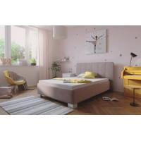 Čalouněná postel Kelly 140x200 enjoy růžová - BLANAŘ