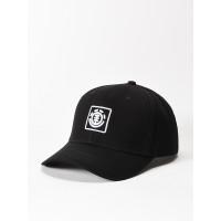 Element TREELOGO FLINT BLACK baseball čepice