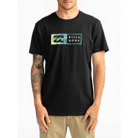 Billabong INVERSED black pánské tričko s krátkým rukávem - XL