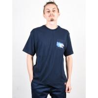 Element HOFFMAN ECLIPSE NAVY pánské tričko s krátkým rukávem - M