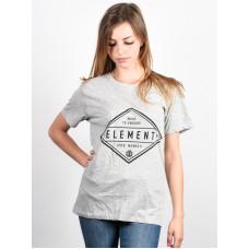Element DIAMOND HEATHER GREY dámské tričko s krátkým rukávem - M