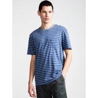 Element ROCKY TRUE NAVY pánské tričko s krátkým rukávem - M