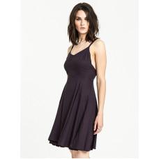 Element HEART TWILL OFF BLACK společenské šaty krátké - S