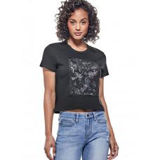 GUESS tričko Tori Mesh-Panel Logo Tee černé vel. XL