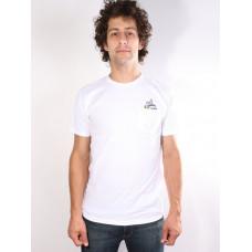 Altamont NATURAL BORN ROMANCE WHITE pánské tričko s krátkým rukávem - M