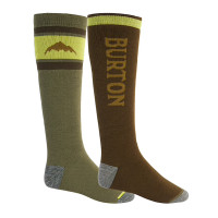 Burton WEEKEND MDWT 2 PACK MRTINI/KEEF kompresní ponožky - L