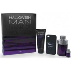 Jesus Del Pozo Halloween Man M toaletní voda 125ml + toaletní voda 4ml + SG 100ml + obal na iPhone
