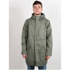 RVCA STANDARD ISSUE PARKA SEQUOIA GREEN zimní bunda pánská - M
