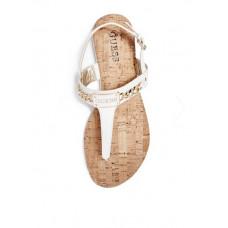 GUESS sandálky Jadeene bílé vel. 36