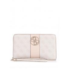 GUESS peněženka Bluebelle Logo Clutch blush vel.