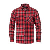Horsefeathers RASHID CARDINAL RED pánská košile dlouhý rukáv - S