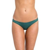 RVCA SOLID CHEEKY MALLARD GREEN plavky dámské dvoudílné luxusní - XS
