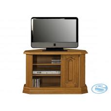 TV stolek rohový typ D Kinga masiv - PYKA