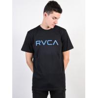 RVCA BIG RVCA black pánské tričko s krátkým rukávem - XL