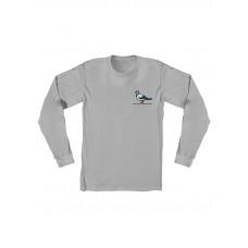 Antihero LIL PIGEON SILVER dětské tričko s dlouhým rukávem - XL