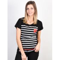 Ezekiel In Line Dolman BLK dámské tričko s krátkým rukávem - S