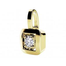 Zlato Zlatý dámský přívěsek Delia 6820595