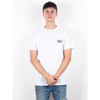 Rip Curl NATIVE GLITCH white pánské tričko s krátkým rukávem - L