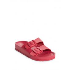 GUESS pantofle Bexx Buckle Strap Sandals červené vel. 37,5