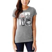 GUESS tričko Belicia City šedé vel. XS