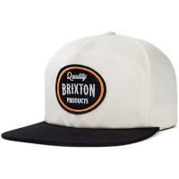 Brixton HENRY white/black pánská kšiltovka