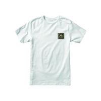 RVCA VA ALL THE WAY white pánské tričko s krátkým rukávem - XL