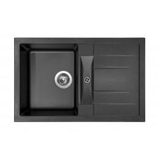 Sinks Kuchyňský dřez Crystal 780 Metalblack