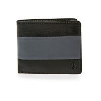 Nixon SATELLITE BIG BILL BLACKCHARCOAL luxusní pánská peněženka