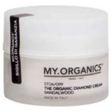 MY.ORGANICS The Organic Diamond Cream Sandalwood 50ml