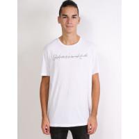 Quiksilver LOGO QUIK SIGNATURE WBB0 pánské tričko s krátkým rukávem - S