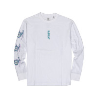 Element ONE EYE BAT OPTIC WHITE pánské tričko s dlouhým rukávem - M