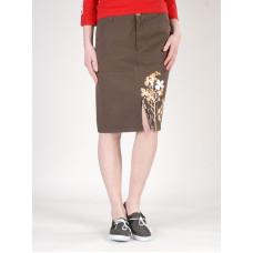 Peace LONG SKIRT BRW sukně nad kolena - XS