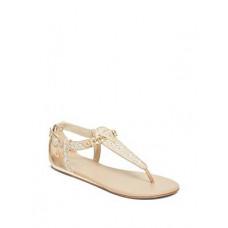 GUESS sandálky Siara Logo Sandals krémové vel. 40
