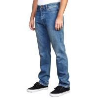 RVCA WEEKEND DENIM Chalk Blue značkové pánské džíny - 30