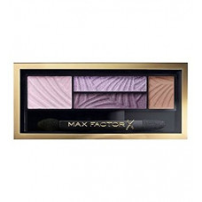 Max Factor Smokey Eye Drama Kit paletka očních stínů a stínů na obočí s aplikátorem 4 Luxe Lilacs 1,8 g