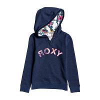 Roxy REALLY LOVE A MOOD INDIGO HEATHER dětská mikina - 10/M