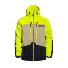 Horsefeathers CRESCENT ATRIP LIMEADE zimní bunda pánská - L