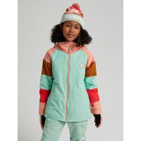 Burton HART FDJADE/DAHLIA dětské zimní bundy na snowboard - L