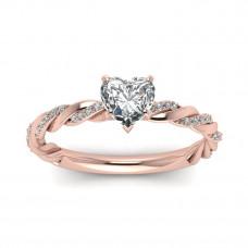 OLIVIE Stříbrný prsten se srdíčkem 2972 Velikost prstenů: 10 (EU: 62 - 64)