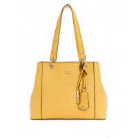 GUESS kabelka Kamryn Logo Shopper Tote žlutá vel.