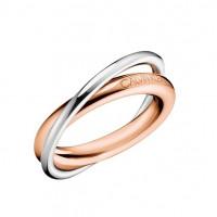 Prsten Calvin Klein Double KJ8XPR2001 Velikost prstenu: 52