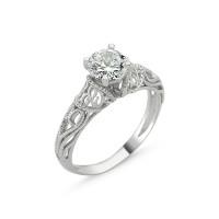 OLIVIE Stříbrný prsten KRÁLOVSKÁ OLIVIE s kubickým zirkonem 1273 Velikost prstenů: 9 (EU: 59 - 61)