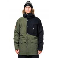 Horsefeathers HUBBARD olive zimní bunda pánská - XL