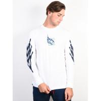 adidas TNNS LS T WHITE/REATEA/TRIPUR pánské tričko s dlouhým rukávem - XL