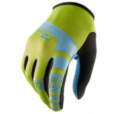 Royal CORE MIDORI CITRIC ACID/ELECT cyklistické rukavice - S