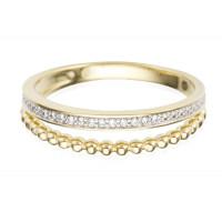 Couple Zlatý dámský prsten Millicent 3953550 Velikost prstenu: 56