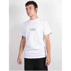 Vans EASY BOX white/black pánské tričko s krátkým rukávem - M